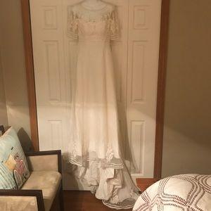Christos wedding dress